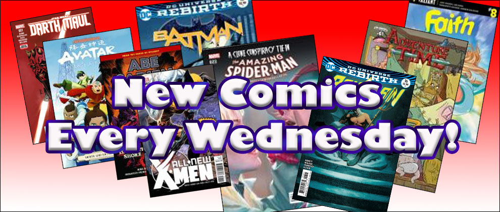 New Comics Wednesdays