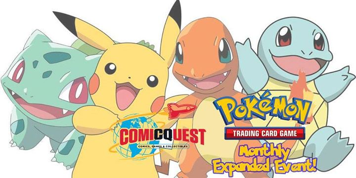 Pokemon Competitive Expanded Format Friday at Comic Quest
