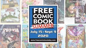 Free Comic Book Summer 2020 to Take Place 7/15 through 9/9 ...