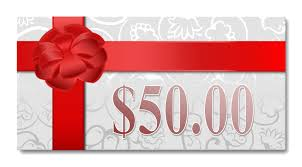 $50.00 Gift Certificate — PEARL SPA
